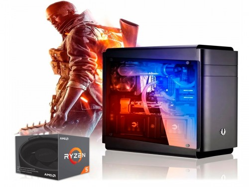 Pc Armada Gamer Amd Ryzen 8gb Ram Radeon Rx 570 4gb Fuente