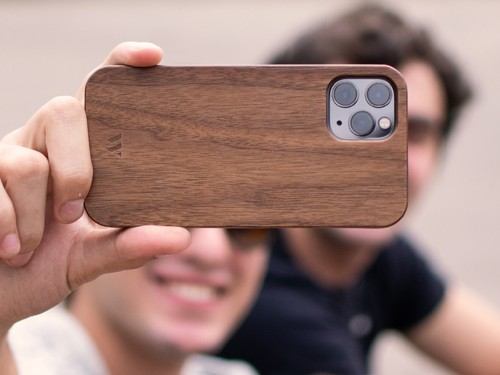 Funda Walden® Madera Real iPhone 11 / 11 Pro / X Xr Xs Max 6 7 8 Plus