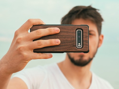Funda Walden® Madera Real Galaxy S20 S10 S10e S9 Plus Ultra Note 8 10