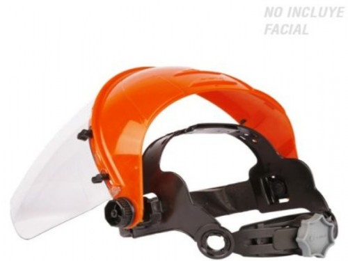 Soporte para Protector Facial Cremallera
