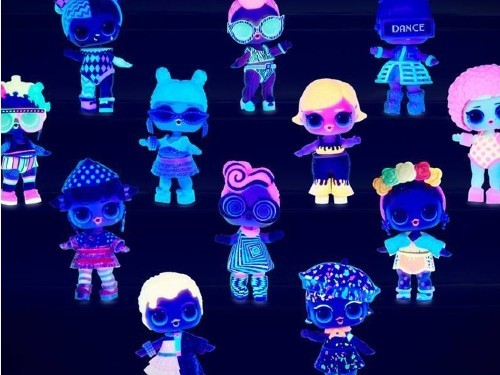Lol Surprise Lights Glitter Wabro