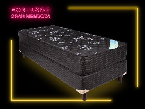 Conjunto Colchón Inducol Imperial y Sommier Imperial 100×190