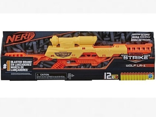 Pistola Nerf Alpha Strike Wolf LR-1 Hasbro