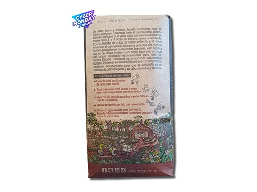 Yerba Mate ISONDÚ Tradicional x 500Gr