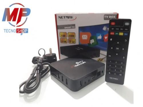 CONVERTIDOR SMART TV ANDROID 4K 8 GB + MINI TECLADO DE REGALO NETMAK