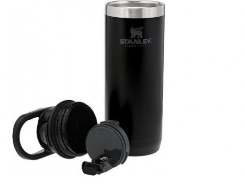 Botella Termica Deportiva Stanley Travel Mug - 16Oz Negro