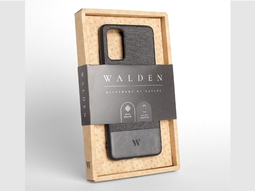 Funda Walden® Tejido Cuero Galaxy S20 S10 S10e S9 Plus Ultra Note 8 9