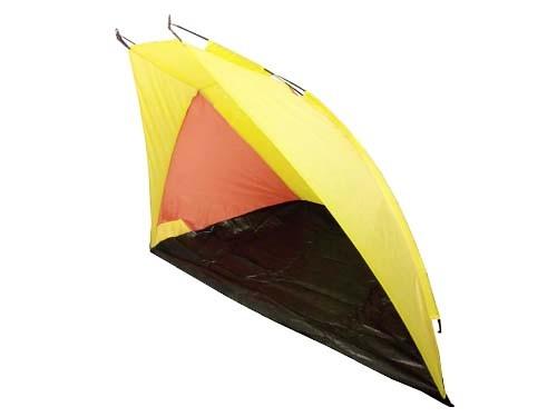 Carpa Tienda Estilo Playera Color Amarillo Y Naranja 240x120x105 cm