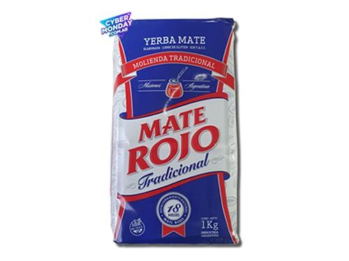 Yerba Mate Mate Rojo Tradicional 1Kg