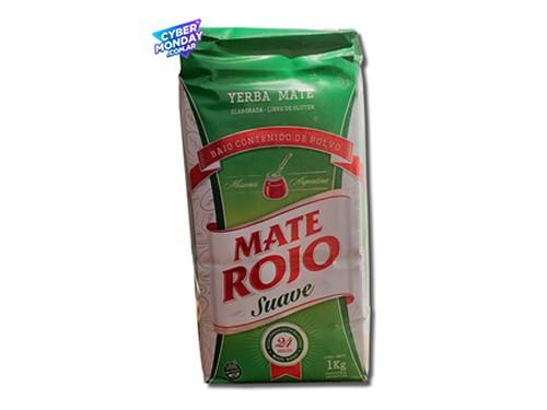 Yerba Mate Mate Rojo Suave 1Kg