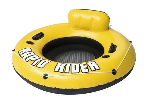 Inflable Amarillo Bote Rapid Rider  Para 1 Persona Pileta Playa