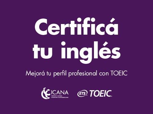 Certificación TOEIC Listening&Reading