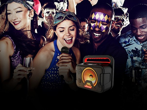 Parlante Bluetooth Inalámbrico Motorola Maxx 810 Portátil Karaoke