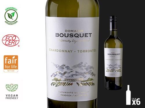 Vino Chardonnay Torrontes Organico Premium 6x750 ml. Domaine Bousquet