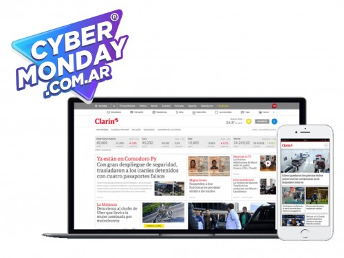 Digital Clarín $10 por 3 Meses