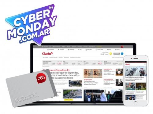 Digital Clarin + 365 $99 por 6 Meses