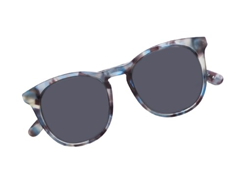 Gafas de Sol MARIANA ARIAS SOL Femenino Azul Acetato