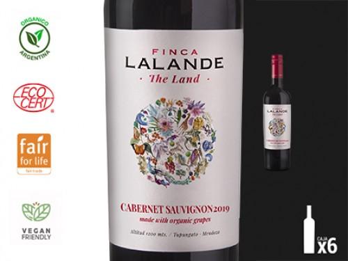 Vino Cabernet Sauvignon Organico 6x750 ml. Finca Lalande