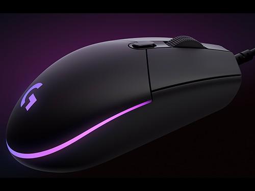 Mouse Logitech G203 Lightsync Negro