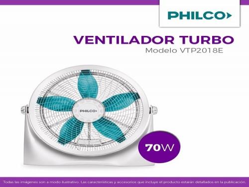 """TURBO VENTILADOR VTP2018E 20"""" PHILCO"""