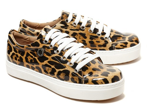 Zapatillas mujer animal print THE BAG BELT