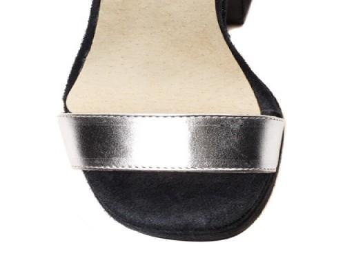 Sandalias combinadas en cuero THE BAG BELT