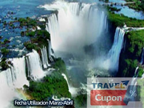 Hotel Cataratas del Iguazú 3 noches 2 personas + desayuno Marzo-Abril