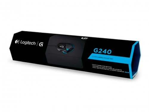 Mouse Pad Logitech G240 Speed Gaming Tela Antideslizante