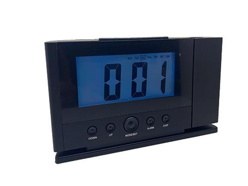 Reloj digital con proyector y temperatura Luft