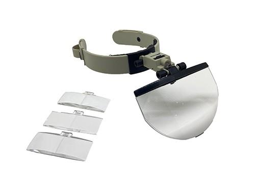 Lupa binocular manos libres con luz led Galileo