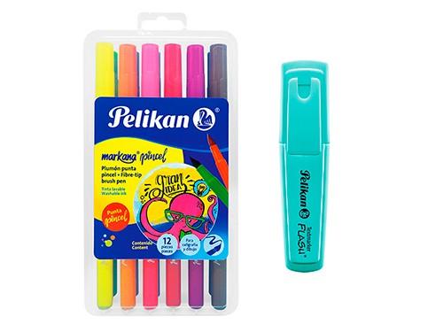 Marcadores Pelikan Markana Punta Pincel (lettering) + regalo