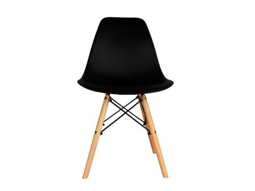 Silla Eames x1 Negra Nordica De Comedor Living Moderna - Home Kong
