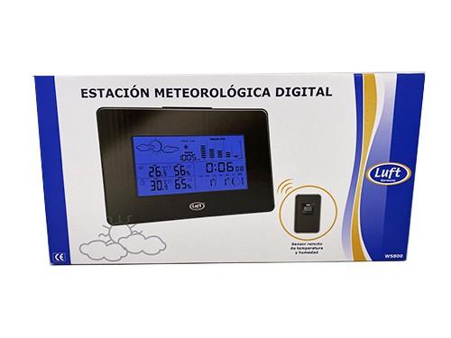 Estación meteorológica digitalcon sensor remoto int/ext Luft
