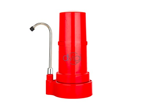 Purificador de Agua Sobre mesada Dvigi clásico Rojo