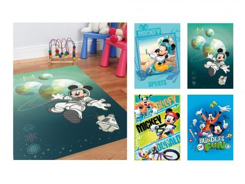 Alfombras infantiles Mickey / Cars / Frozen super soft premium 67x120