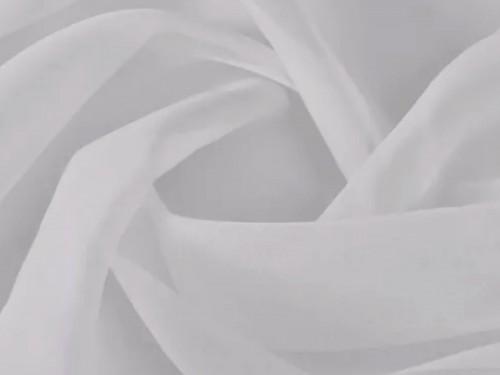 Cortinas ambiente blanca / beige 145x210cm tela voile translúcida