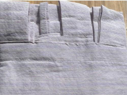 Cortinas ambiente lavanda  Tela Jacquard  2 paños de 145x210cm