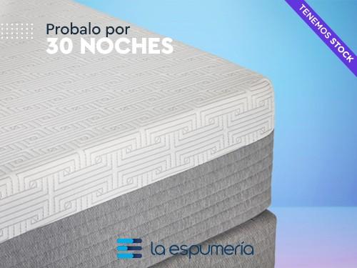 Colchón Híbrido ROCK 140X190 (Espuma y Resortes)