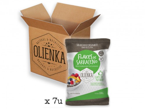 Flakes 100% Sarraceno - Caja x7u