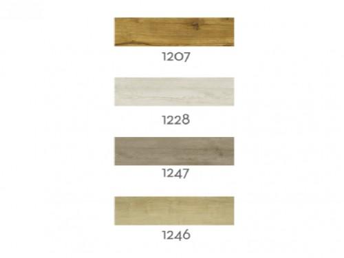 Piso vinílico autoadhesivo xm2 simil madera 18x120cm
