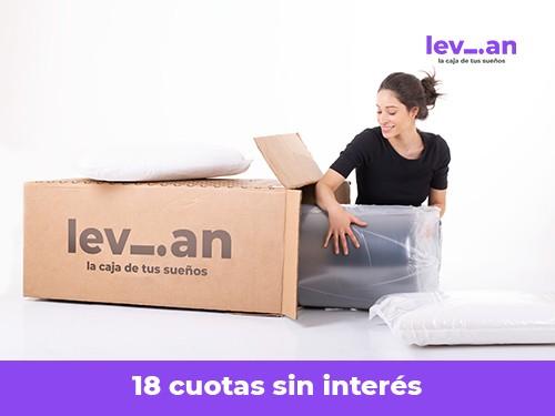 Colchon Single Levian En Caja! 80x190