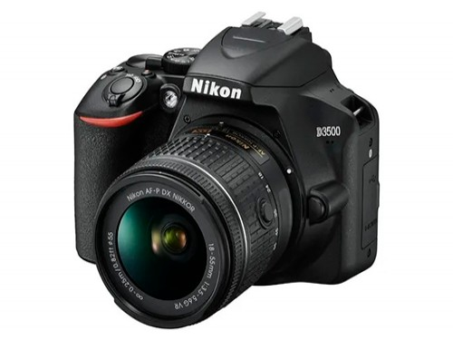 Camara Nikon D3500 Reflex Profesional Fotos Kit 18-55mm Zoom
