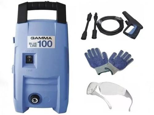 Hidrolavadora Gamma 100bar Auto Stop 1200w Blue Line