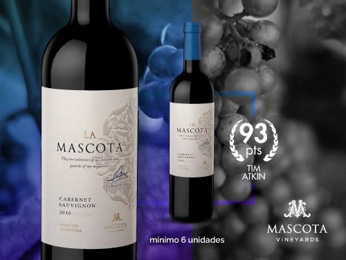 Vino tinto - La Mascota Cabernet Sauvignon 750 ml. - Mascota Vineyards