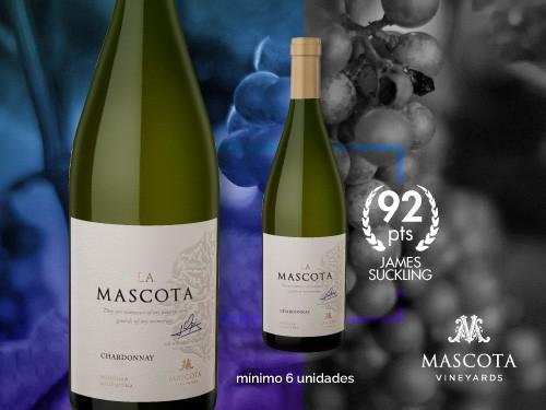 Vino blanco - La Mascota Chardonnay 750 ml. - Mascota Vineyards