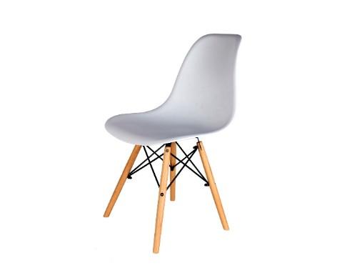 Sillas Eames x4 Blancas Nordica De Comedor Living Moderna - Home Kong