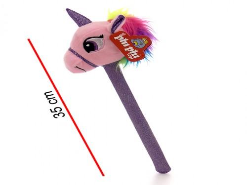 Varita Mágica Unicornio de Peluche Con Sonido 35 Cm.