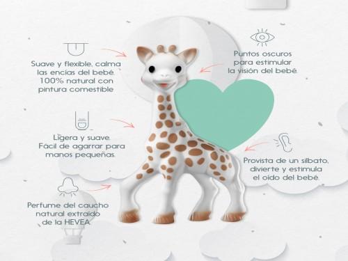 Mordillo sensorial Sophie la girafe® La jirafa Sofía