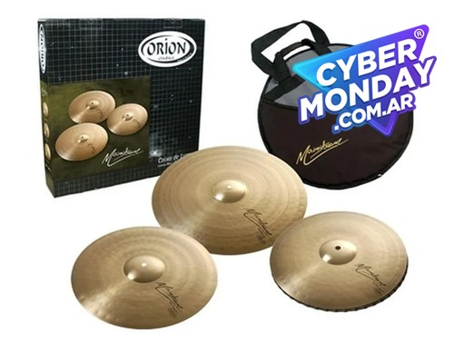 Platillo Set P/ Bateria Orion Mainstream Ms70 C/ Funda