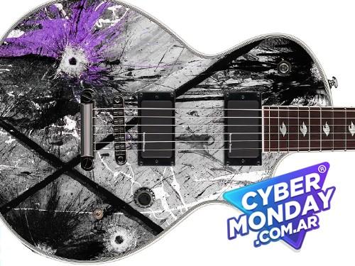 Guitarra Esp Les Paul Gus G (ozzy) Eclipse Detalle